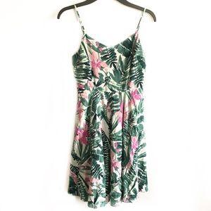 Old Navy tropical Hawaiian flower tank dress small